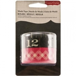 Washi tape Ruler. Set 2 rollos de Cosmo Cricket