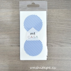 MT masking tape Seal Stripe light blue