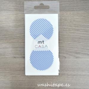 MT masking tape Seal Stripe light blue