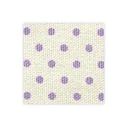Dailyike Fabric sticker Dot purple
