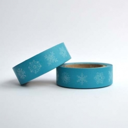 Wt* washi tape Navidad azul