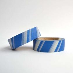 Wt* washi tape Barras blanco