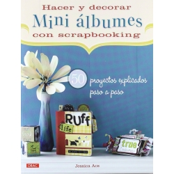 HACER Y DECORAR MINI ALBUMES DE SCRAPBOOKING