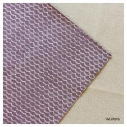 Dailylike Fabric sticker -Lino- Dear Hesitate