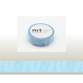 Masking tape MT Messy cyan