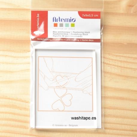 Artemio Bloque acrílico 7 x 9 x 0,5 cm