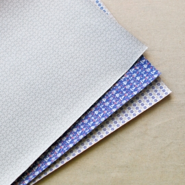 Dailyike Fabric sticker Snow Bell