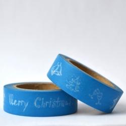 Wt* Merry Christmas azul