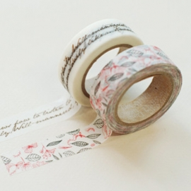 Dailylike washi tape Runa
