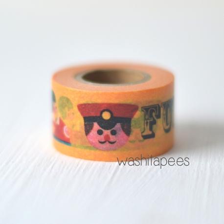 MASTE masking tape Ingela Orange