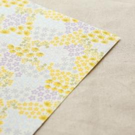 Dailyike Fabric sticker Flower Bed