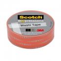 Washi tape Scotch frecuencia