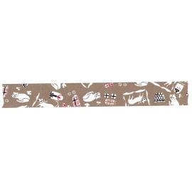 "Classiky masking tape ""Cats Kasshoku"""