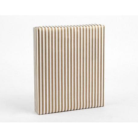 Dailylike papel de regalo Gold Stripe