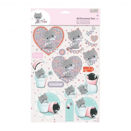 A4 PACK DECOUPAGE