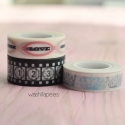 Washi tape Cinema set 3 rollos de Teresa Collins