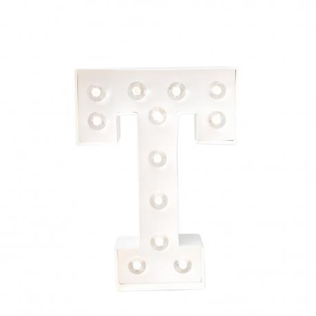 Letra Luminosa Marquee T