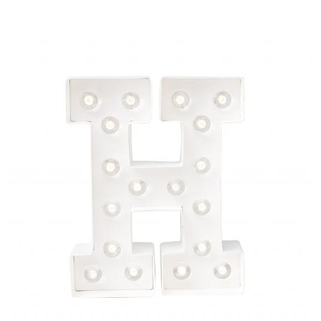 Letra Luminosa Marquee H