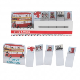 MINI MEMO PADS I LOVE LONDON