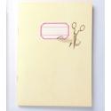 Scrap notebook A5 Ivory