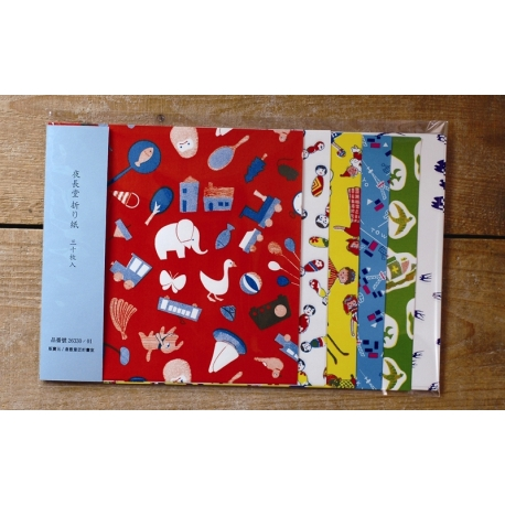 Classiky 30 piezas origami niños 6 diseños