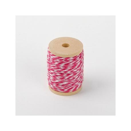Dailylike Baker twine Hot Pink 22.6 m