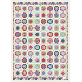 Papel de regalo Vintage Quilt