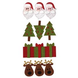 Detalles fieltro Artemio Navidad