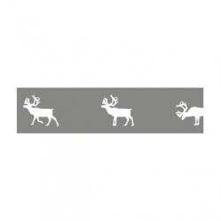 MT Christmas Reindeer Silver