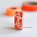 "MASTE masking tape Mini ""Paisley"" Coral"