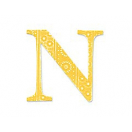 TROQUEL BIGZ Sassy Serif Alphabet N