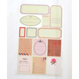 Stickers de washi tape etiquetas