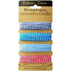 Bakers Twine HEMPTIQUE Berrylicious 9,1 m/cada uno