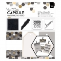 Gift Tags & Stamps Set - Capsule - Geometric Mono