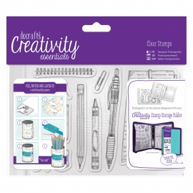 A6 Clear Stamp Set - Stationery