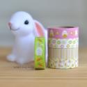 Set 5 Masking tape conejos