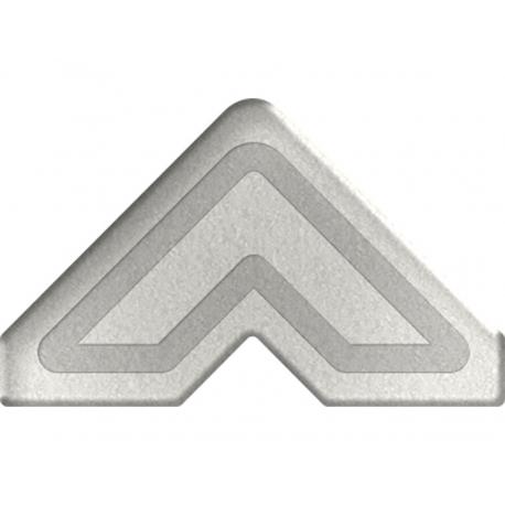 Esquinas adhesivas papel plata