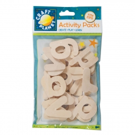 Wooden Alphabet Pack (26pcs)