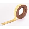 Dailylike Fabric tape Gingham check yellow