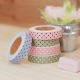 Dailylike Fabric tape Dot pink