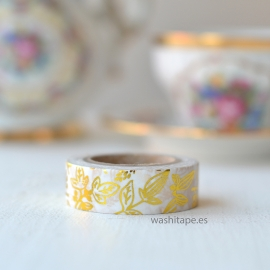 Dailylike Masking Tape Little Bamboo Gold