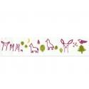 Masking tape Classiky Irago Tomomi Burgundy Forest