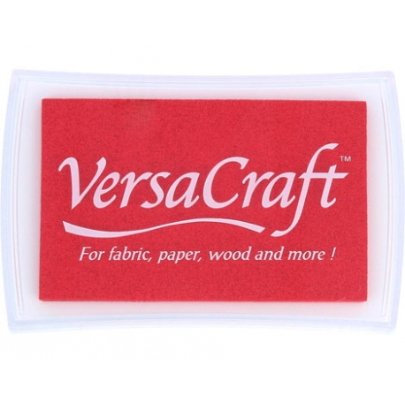 Tinta para textil color rojo amapola
