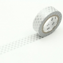 MT Masking Tape Dot Silver
