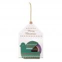 Mini maste masking tape Xmas Ornament bird