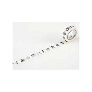 MT masking tape Number / symbol black